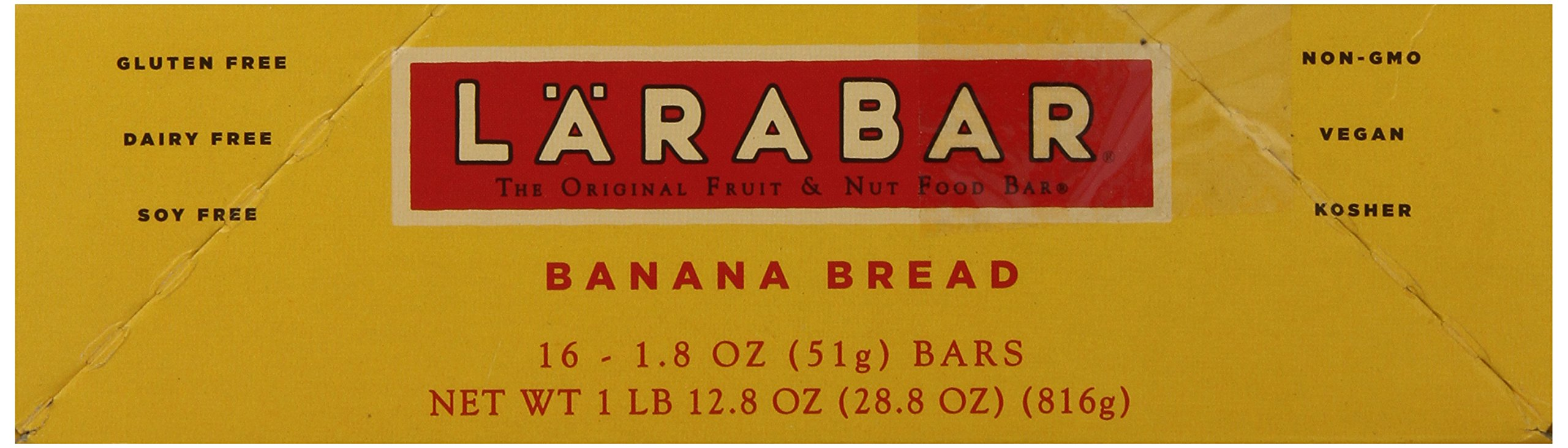 Larabar Gluten Free Bar, Banana Bread, 1.8 oz Bars (16 Count), Whole Food Gluten Free Bars, Dairy Free Snacks by LÄRABAR (Image #8)