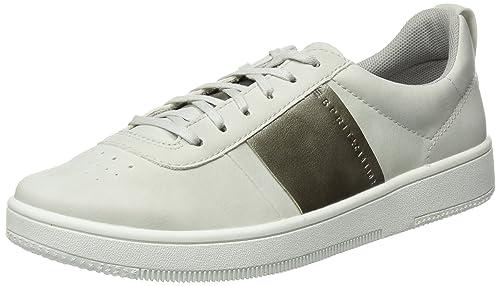 Esprit Sidney Perf Lace Up, Zapatillas para Mujer, Gris (Pastel Grey 050), 37 EU