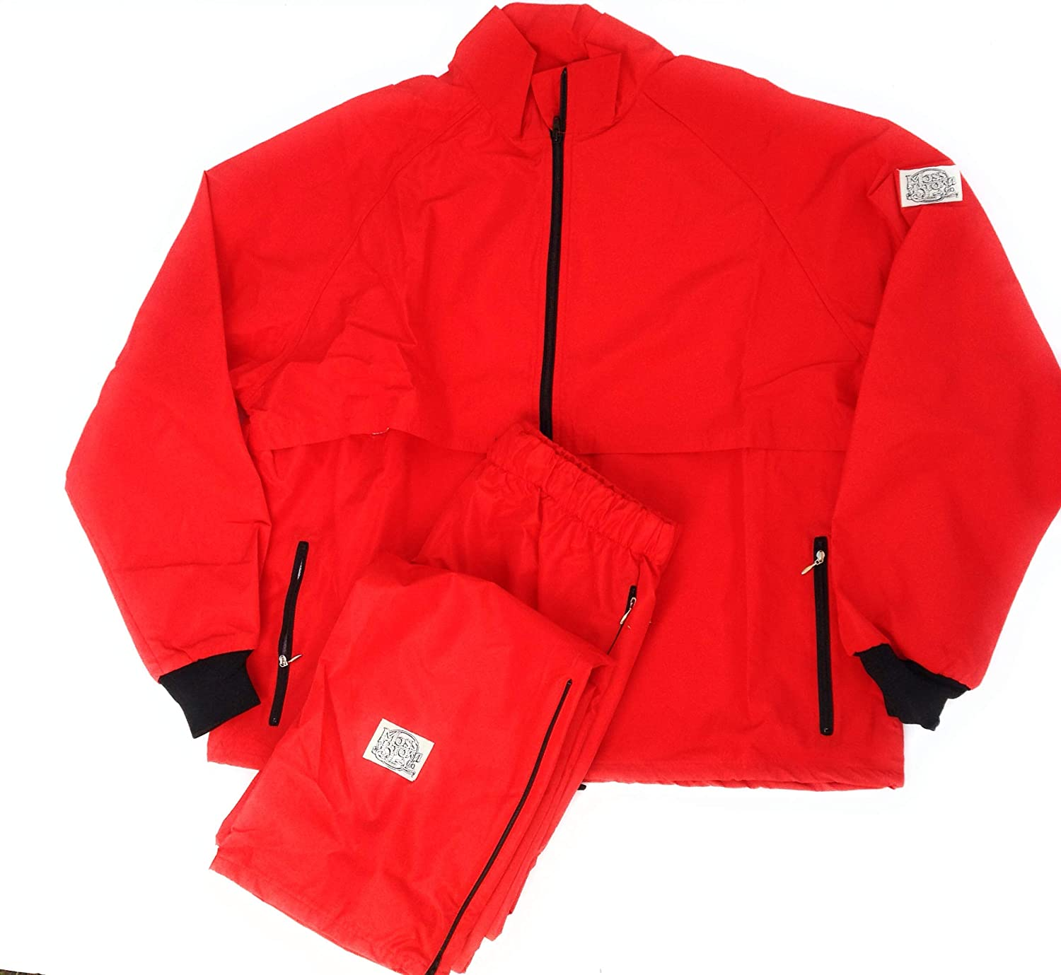 Bright Colors Big /& Tall 2-Layer Moss-TEX Breathable Moss Brown /& Co Track Suits. Waterproof