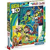 Clementoni - Puzzle 2X20 Ben 10