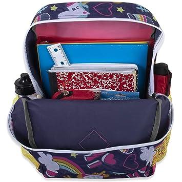 Amazon.com: Mochila 6 en 1 para niña con bolsa para el ...