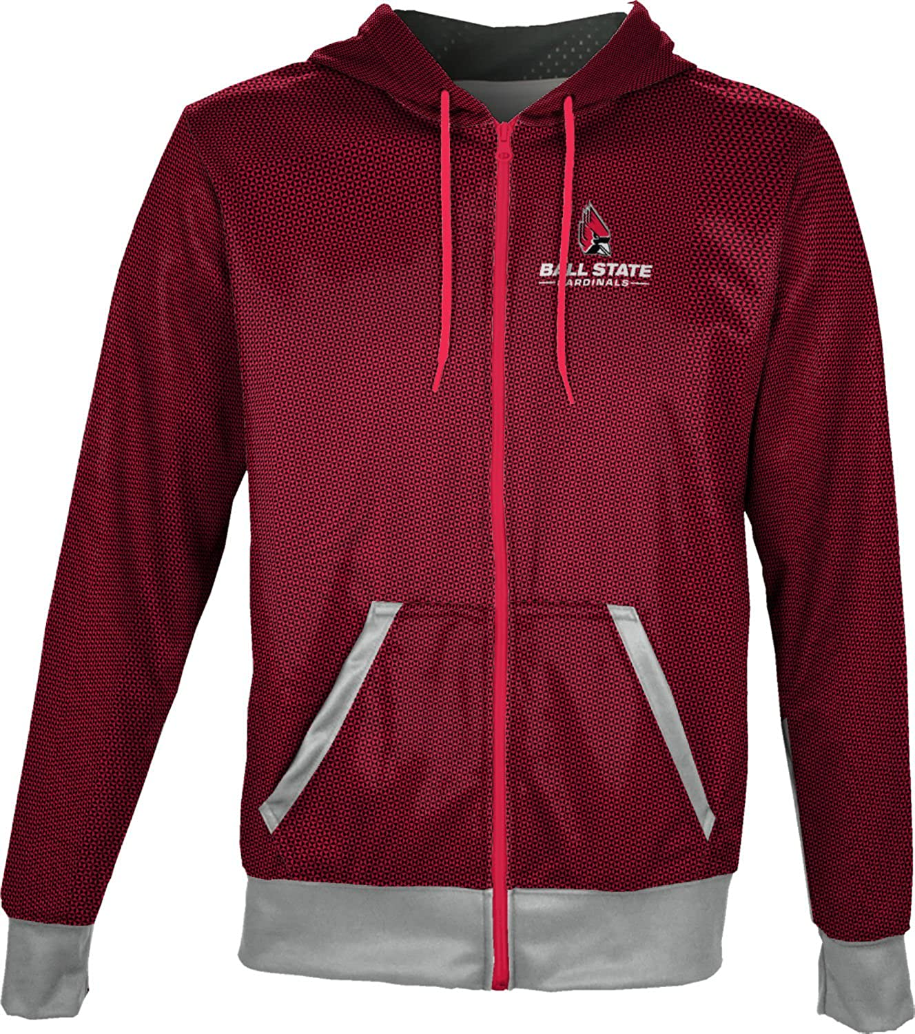 Embrace ProSphere Ball State University Boys Fullzip Hoodie