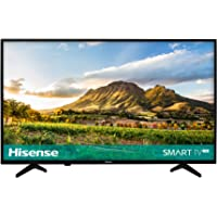 Hisense H32A5600UK 32-Inch HD Ready Smart TV with Freeview Play - Black (2018 Model)