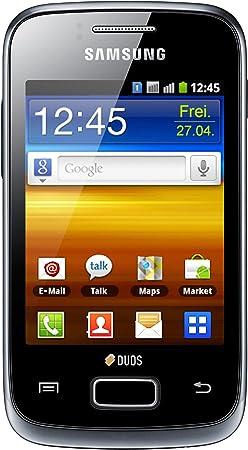 Samsung Galaxy Y Duos S6102 - Smartphone libre (pantalla táctil de ...
