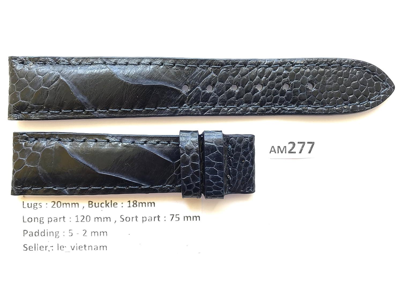 le_vietnam APPAREL メンズ US サイズ: 20mm / 18mm カラー: ブルー  B077XXL6WM