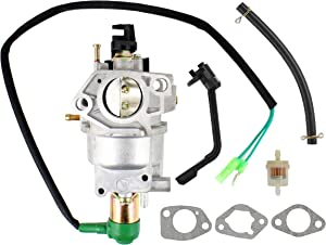 Pro Chaser H139J-32 Generator Carburetor for Champion Power CPE 41532 41135 41537 40050 40058 41113 41311 41351 Fits Generac GP5500 GP6500 Centurion 59710 0059710 Carroll Stream CS182 CS182ES