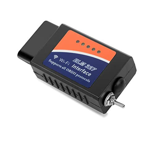 Amazon com: GSLL Elm327 WiFi OBDII Interface Adapter With