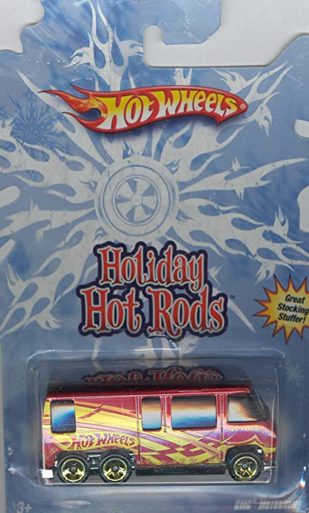 Amazon com: Hot Wheels Holiday Hot Rods Gmc Motorhome 1:64