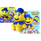 Moodsters, Coz Plush Sound & Activity Book