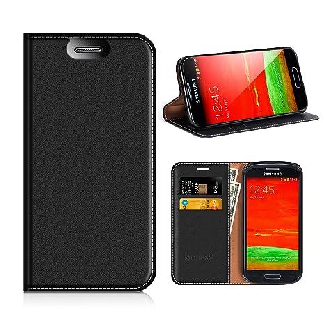 MOBESV Funda Cartera Samsung Galaxy S3 Mini, Funda Cuero ...