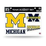NCAA Michigan Wolverines Die Cut Team Magnet Set