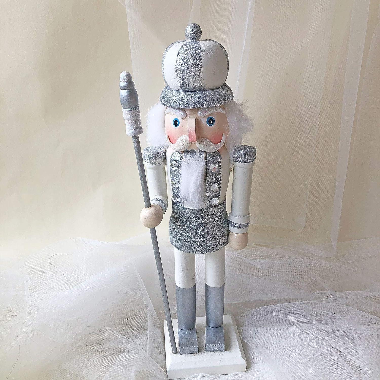 15inch Handmade Nutcracker Solider Figures Model Home Christmas Ornaments