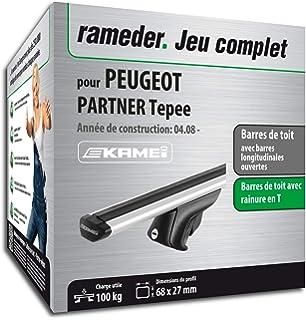 Rameder Pack Barres de Toit Barres de Toit Kamei pour Peugeot Partner Tepee  (135346- d8c64eab3fc8