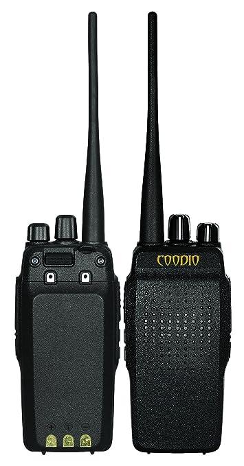 6 opinioni per Coodio C69 Walkie Talkie [Professionale] [DSP Audio] 10W UHF 400-480MHz