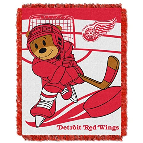 Amazon The Northwest Company Detroit Red Wings Baby Blanket Mesmerizing Red Wings Throw Blanket