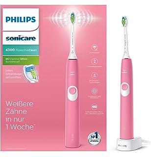 Philips 4300 series HX6805 28 cepillo eléctrico para dientes Adulto Cepillo  dental sónico Rosa - 9e7a86324106