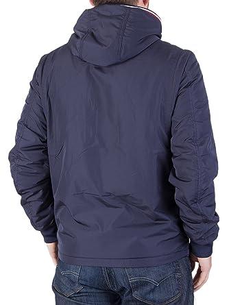 Tommy Hilfiger Hombre Zake Lightweight Jacket, Azul, Small: Amazon.es: Ropa y accesorios