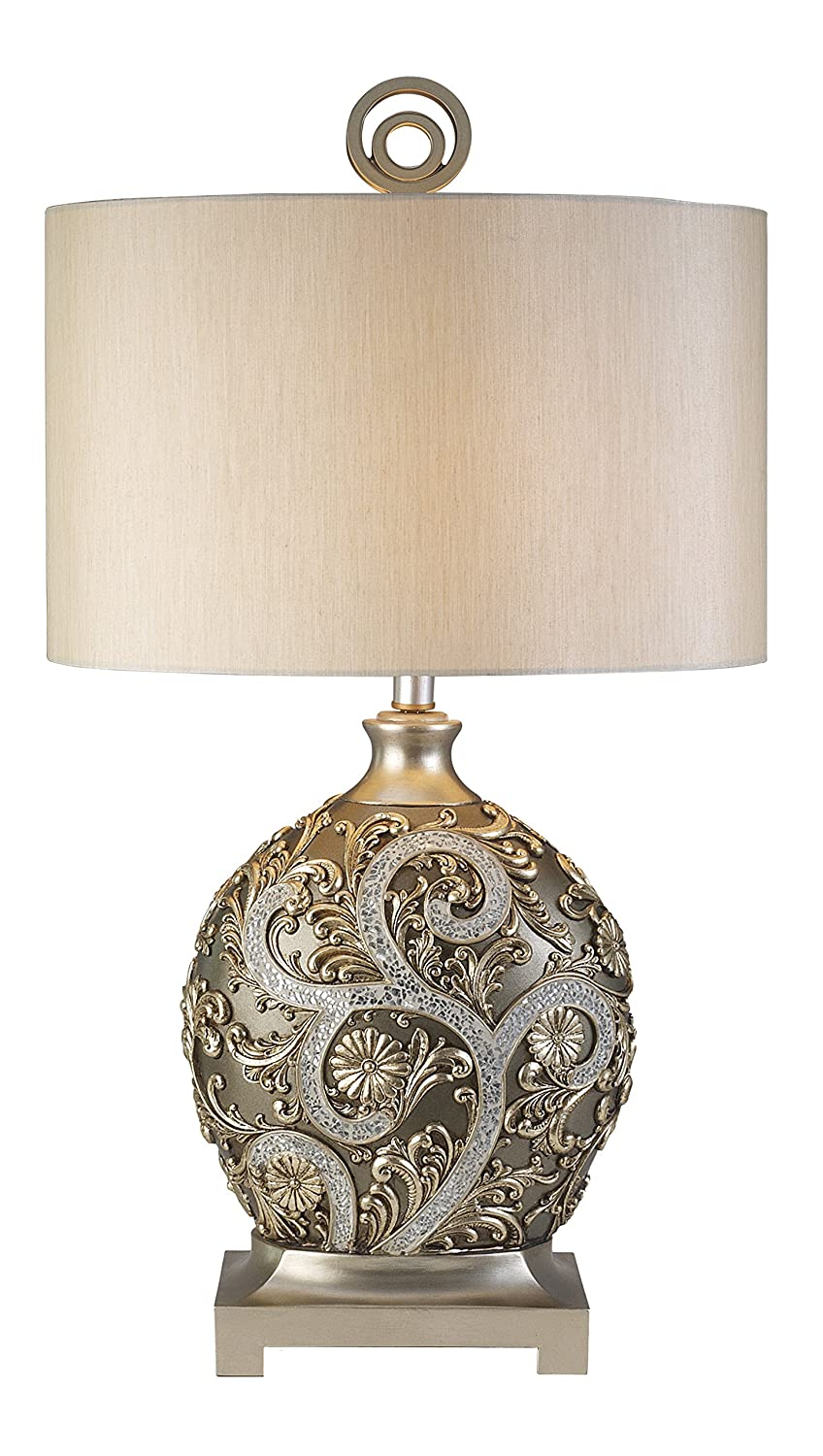 lamp one table light lamps s marie bellacor silver htm