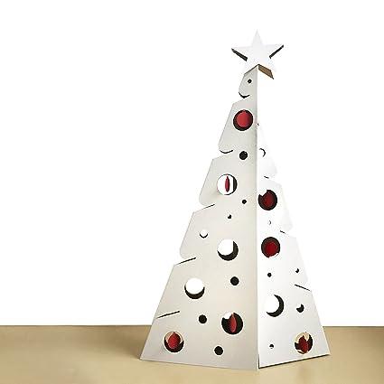 Scatolificio Crippa Albero Di Natale Bifacciale In Cartone Con