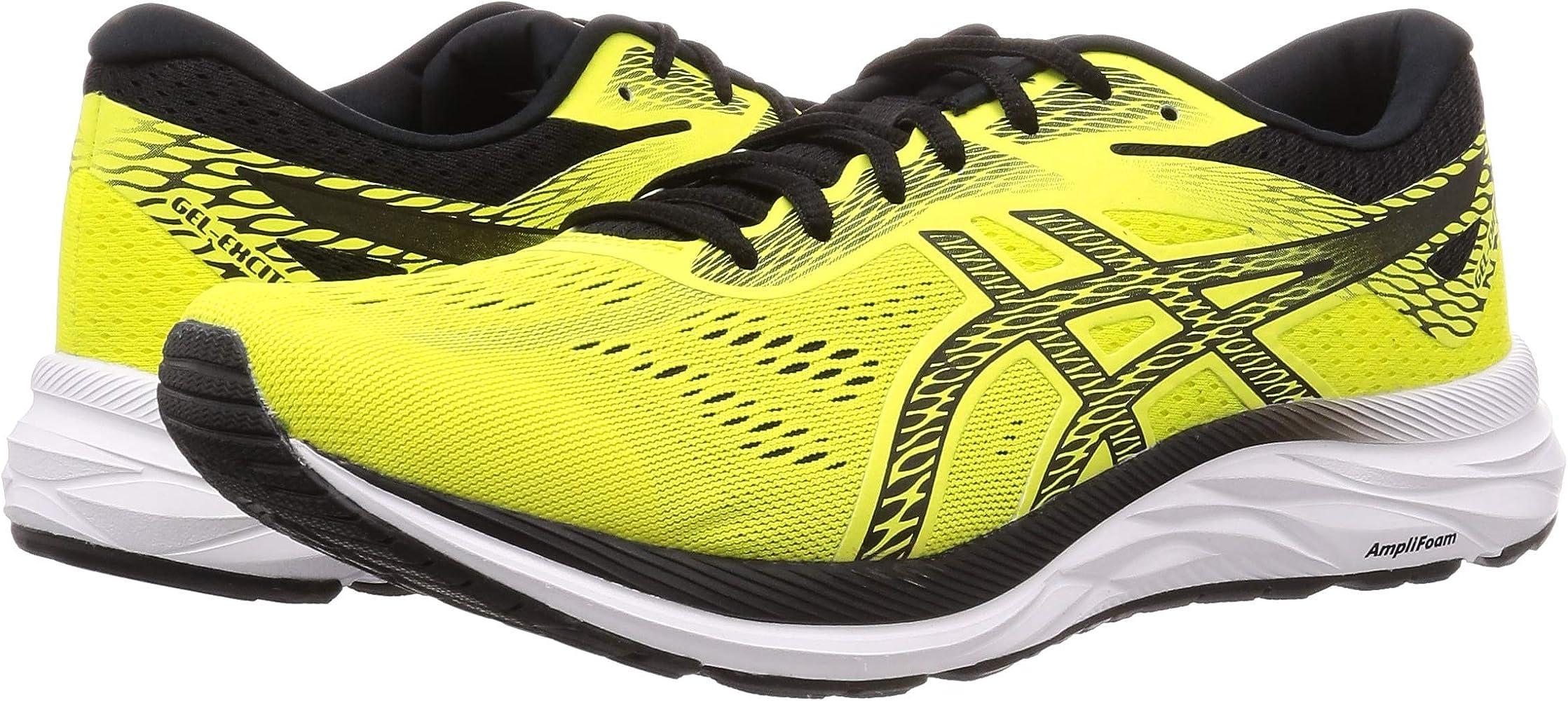 Asics Gel-Excite 6, Zapatillas de Running para Hombre, Amarillo (Sour Yuzu/Black 750), 46 EU: Amazon.es: Zapatos y ...