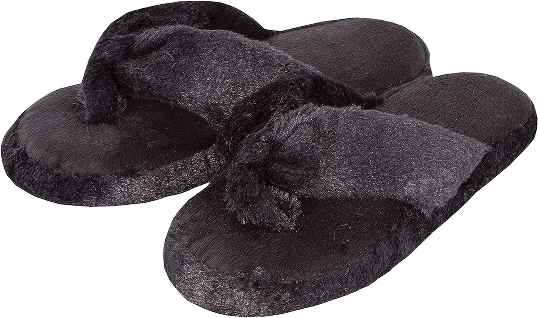 Flip Flops Slippers Thongs S M L XL Metzuyan Ladies Womens Leopard Onezee Warm Fluffy Hooded Zip Up