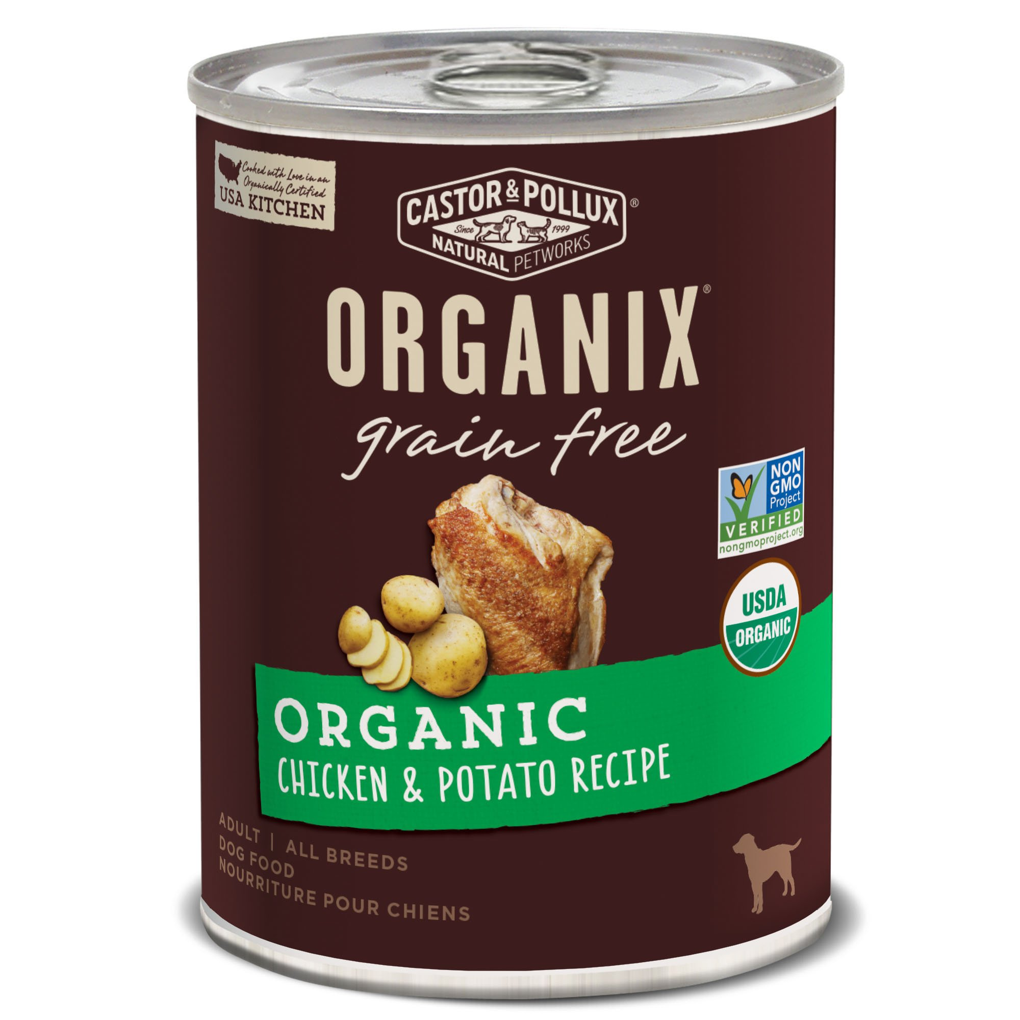 Dog Food Chicken Flavor Castor And Pullux