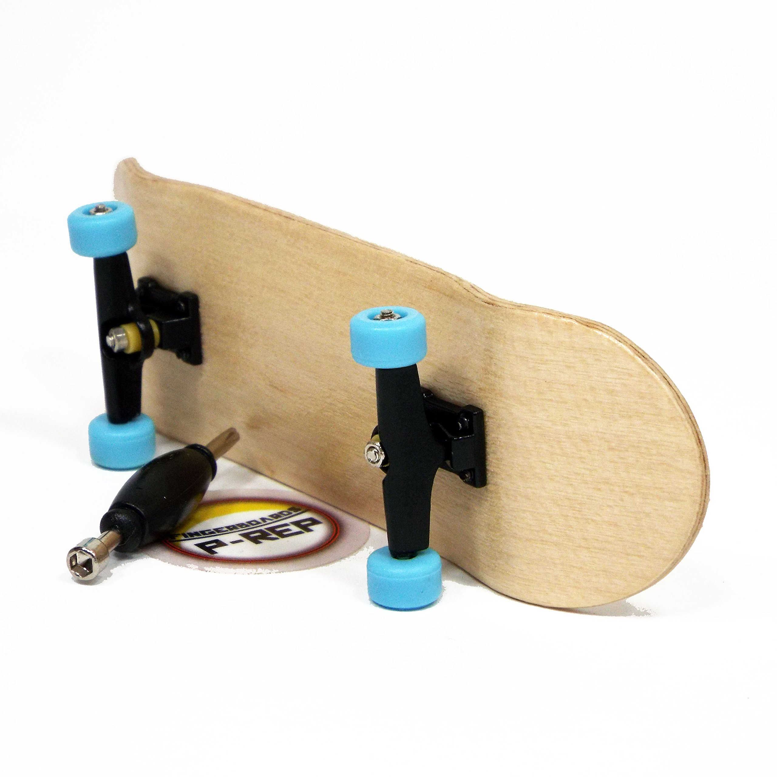 Peoples Republic P-REP Starter Complete Wooden Fingerboard 30mm x 100mm - Maple by Peoples Republic