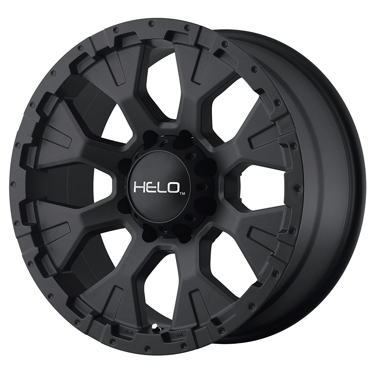 HELO HE878 SATIN BLACK HE878 20x9 8x165.10 SATIN BLACK (-12 mm) WHEEL RIM HE8787