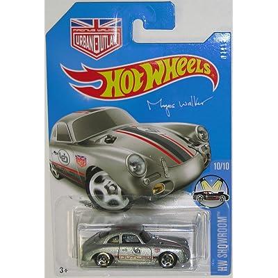 Hot Wheels 2016 HW Showroom Porsche 356A Outlaw Magnus Walker 120/250, Silver: Toys & Games