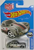 PORSCHE 356A OUTLAW Hot Wheels 2016 HW SHOWROOM Silver Porsche 356a 1:64 Scale Collectible Die Cast Metal Toy Car Model #10/10 on International Long Card