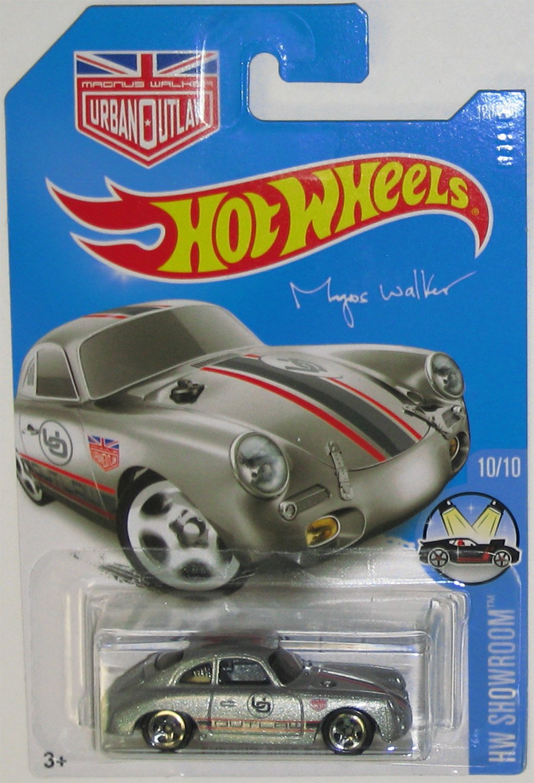 Hot Wheels 2016 HW Showroom Porsche 356A Outlaw Magnus Walker 120/250, Silver