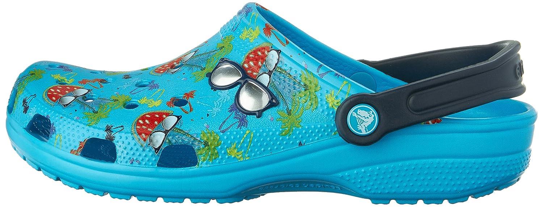 Crocs Classic Classic Crocs Sommer Fun Mule Electric Blau 9c8983