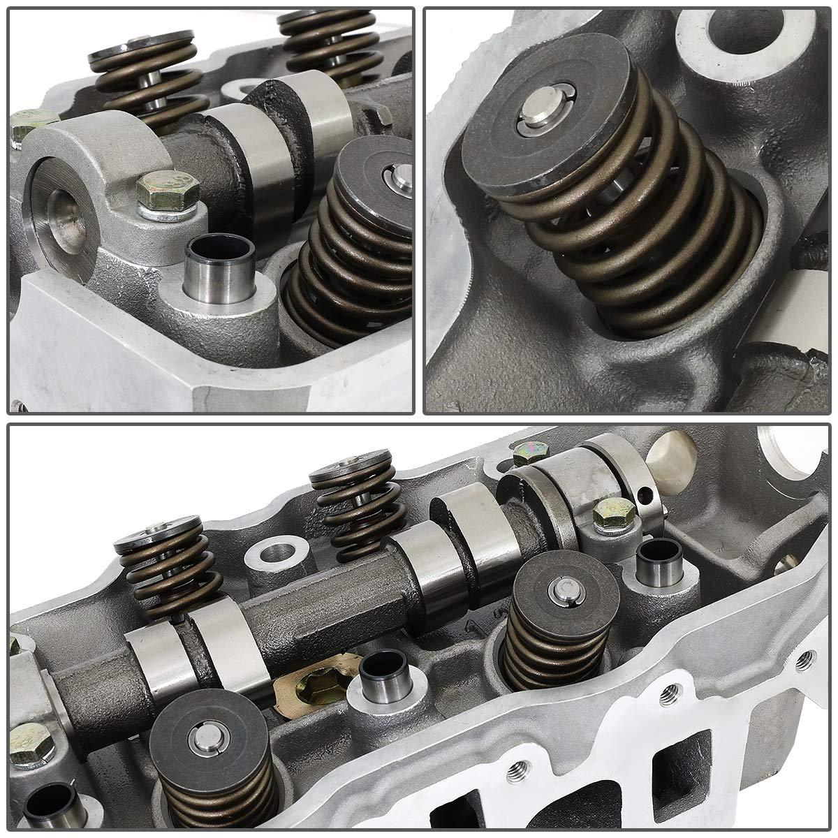 DNA Motoring CYLH-T22R Aluminum Cylinder Head w//Valve Complete Set 22R