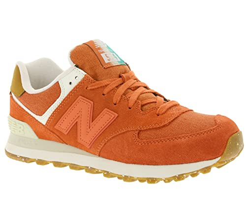 new balance 574 damen orange