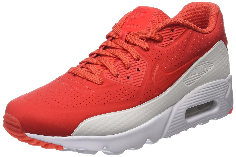Nike Herren Air Max 90 Ultra Moire Laufschuhe  44.5 EU|Rot (Light Crimson/Light Crimson/White)
