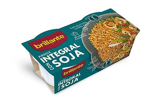 Arroz integral con Soja. 2 x 125 gr.: Amazon.es: Alimentación y ...