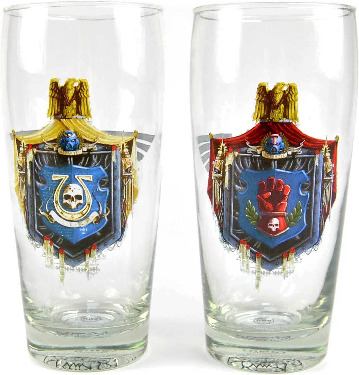 chapitre Unbekannt Warhammer Lot de 2?Grands verres