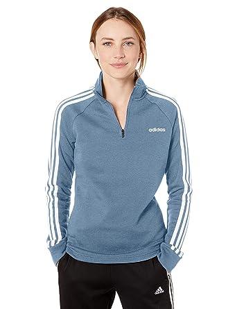 adidas Essentials 1/4 - Chaqueta de Forro Polar para Mujer: Amazon ...