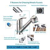 Khrodis Single Level Modern Chrome Bathroom Sink