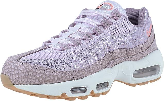 Tamano relativo tímido motivo  Amazon.com | Nike 807443-500 Women AIR MAX 95 PRM Bleached Lilac/Purple  Smoke/PH | Road Running