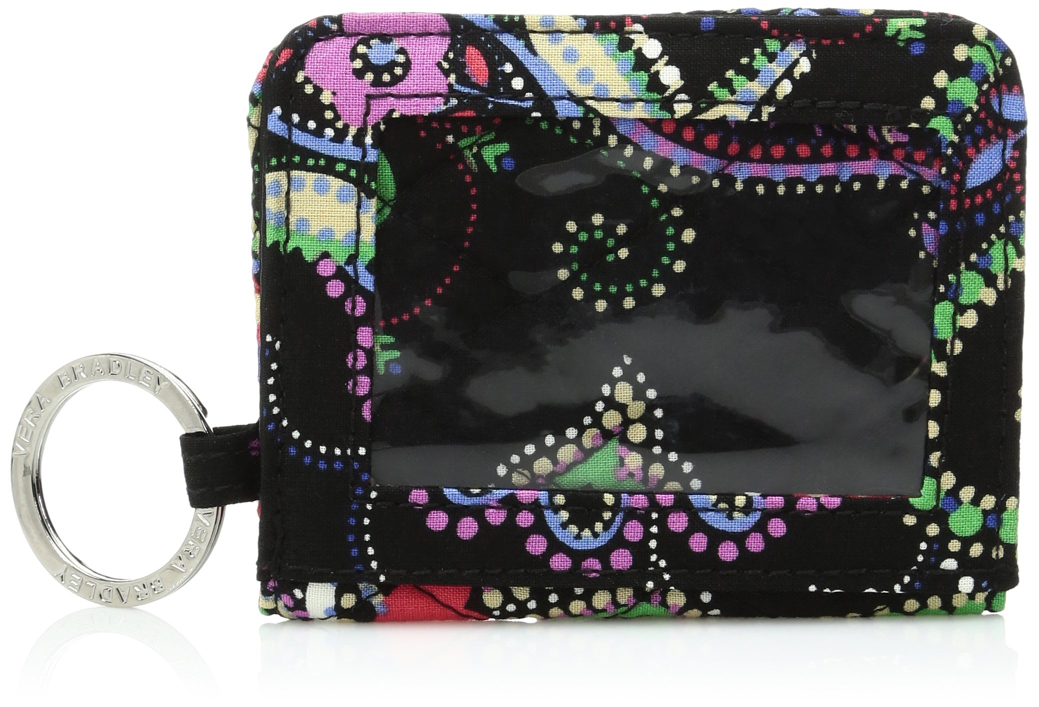 Vera Bradley Womens' Campus Double ID Holder, Kiev Paisley, One Size