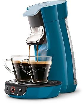 Senseo Viva Café HD7829/71 - Cafetera (Independiente, Máquina de café en cápsulas, 0,9 L, Dosis de café, 1450 W, Azul): Amazon.es: Hogar