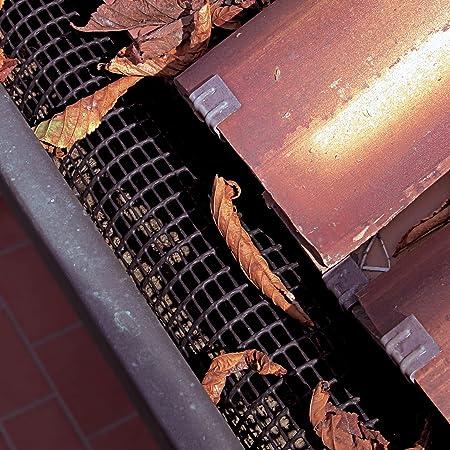 Tenax Rohrnetz f/ür Dachrinne 1 m x 5 St/ück