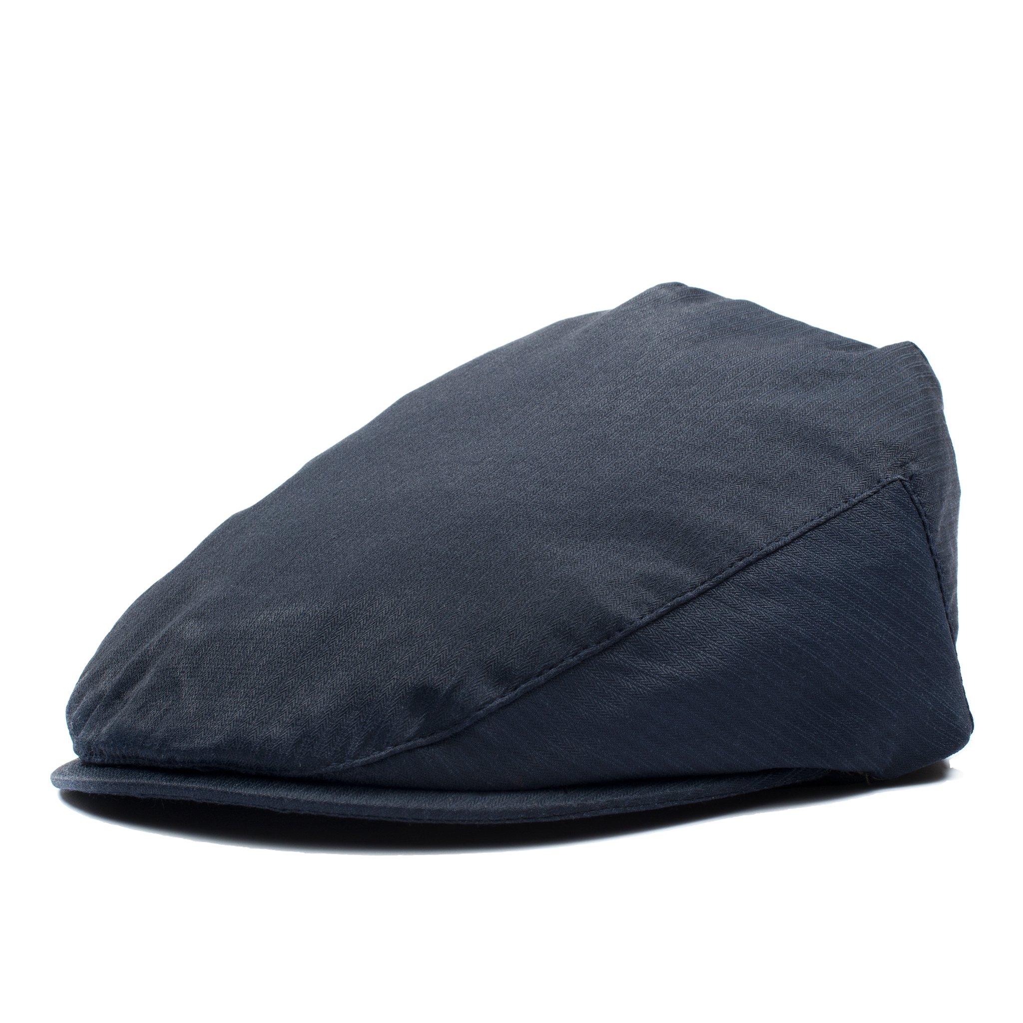 Born to Love Flat Scally Cap - Boy's Tweed Page Boy Newsboy Baby Kids Driver Cap Hat (XXS (6-12 Months 46CM), Navy)