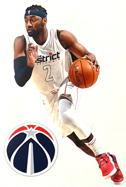 Image Unavailable. Image not available for. Color  FATHEAD John Wall Mini Washington  Wizards Logo Official NBA ... 381ba6e4b