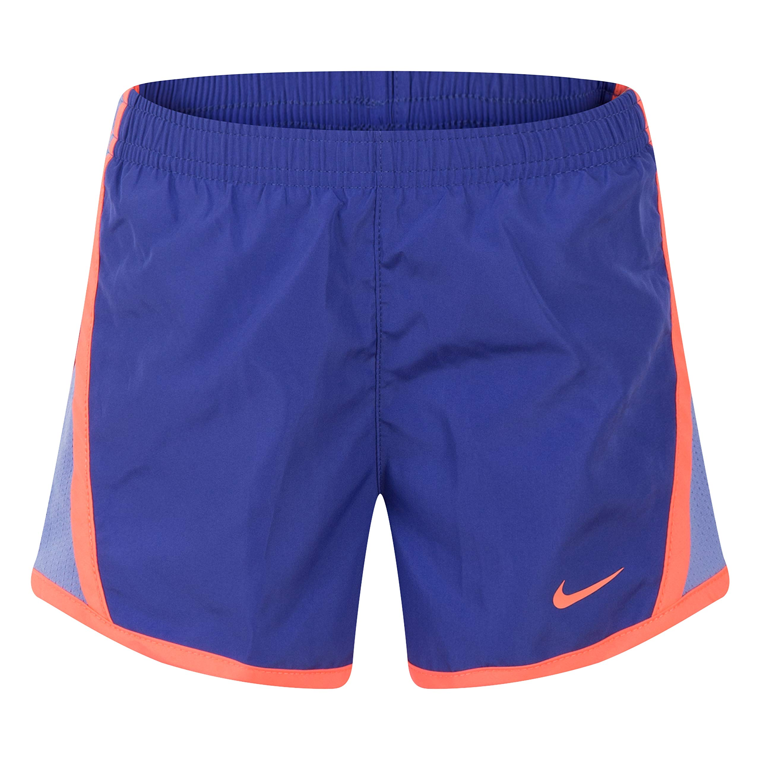 NIKE Children's Apparel Girls' Little Dri-FIT Tempo Shorts, Rush Violet, 6X by NIKE Children's Apparel