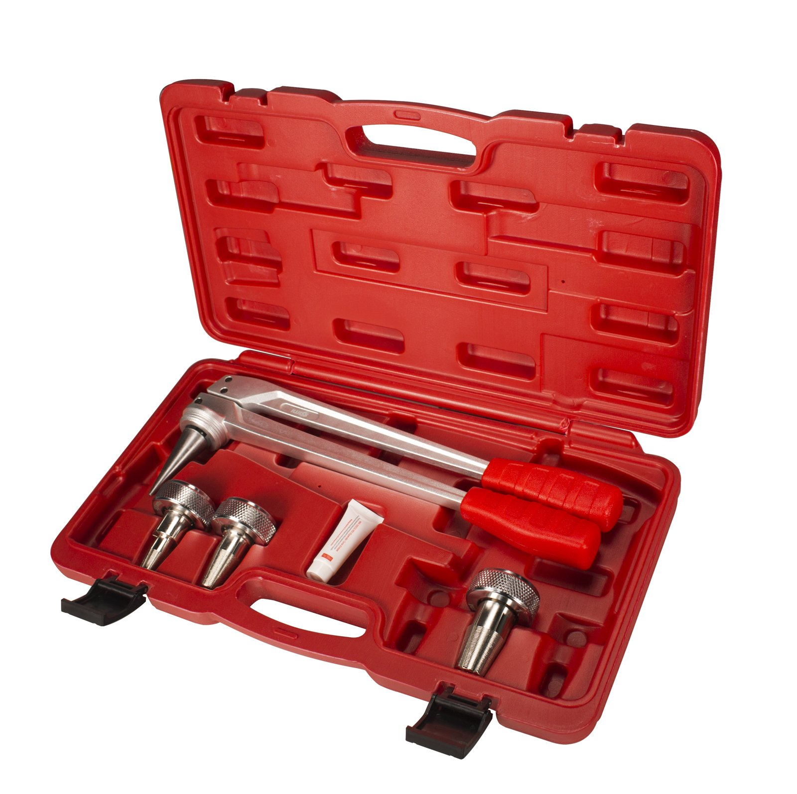 IWISS F1960 PEX Pipe Expansion Manual Tool Kit With 1/2'' To 1'' Expansion Heads by IWISS Electric Co.,Ltd