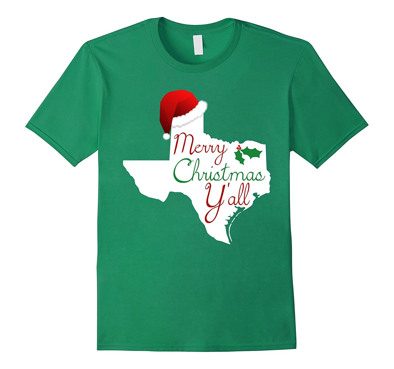d51d7218 Texas Christmas Shirt - Merry Christmas Y'all Texas XMas Tee-ANZ ...