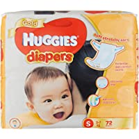 Huggies Gold Small Tape Diapers, 72ct