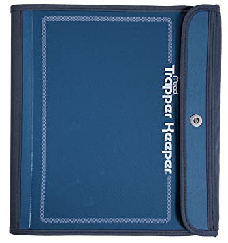 Trapper Keeper Binder 15 Inch Blue 72177 Amazoncouk Office